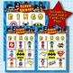 SUPER HEROES 3x3 Bingo