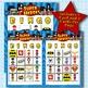 SUPER HEROES 4x4 Bingo