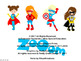 SUPER HEROES - Classroom Decor - 93 pages FULL COLOR