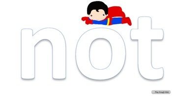 SUPER HEROES Pre-Primer Sight word READING UNIT 5