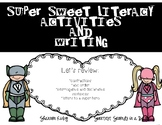 SUPER Hero Writing and Literacy Activities