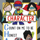 SUPER KIDS - Classroom Decor: LARGE BANNER, I Have Character