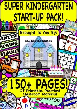 SUPER KINDERGARTEN START-UP PACK 150+ PAGES