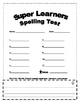 SUPER Learners Spelling Test