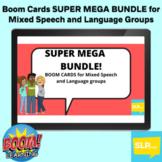 SUPER MEGA BUNDLE MS/HS Speech/Language Activities for Mixed Groups BOOM CARDS