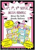 SUPER MEGA BUNDLE Minus Sixth Grade Stations