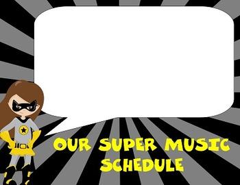 SUPER MUSIC Schedule