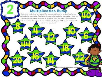 SUPER Multiplication Math