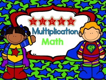 SUPER Multiplication Math {FLASH FREEBIE for 24 hours only!}