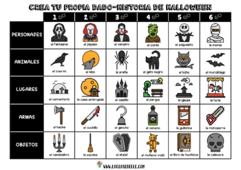 SUPER PACK DE ESCRITURA CREATIVA PARA HALLOWEEN