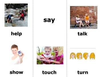 Nouns & Verbs Sign Language (ASL) Vocab for Beginners SUPER PACK