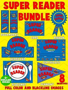 READING BUNDLE |SUPER READER BUNDLE | BLUE