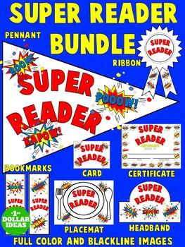 READING BUNDLE  SUPER READER BUNDLE   WHITE