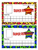 SUPER READERS PUNCH CARD