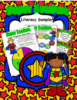 SUPER Readers! Literacy Sampler
