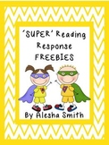 'SUPER' Reading Response FREEBIE
