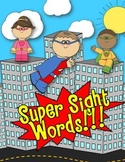 SUPER SIGHT WORDS Games, Activities & Center Fun!!! (DOLCH FIRST) - COMMON CORE
