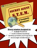 SUPER Secret Agent STEM STEAM: 8 Complete Missions!