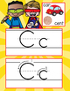 SUPER kids - Alphabet Cards, Handwriting, Flash Cards, ABC print with pictures