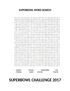 SUPERBOWL 2017 CHALLENGE