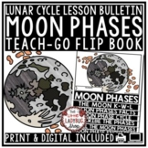 Moon Phases Activity Flip Book