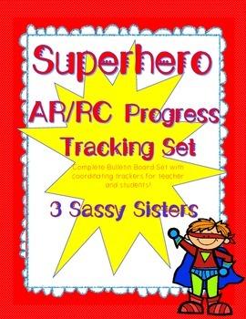 SUPERHERO AR / RC Progress Tracking Set