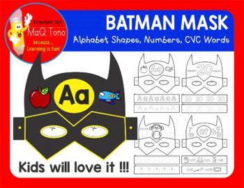 SUPERHERO BATMAN MASK
