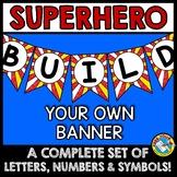 SUPERHERO BULLETIN BOARD BANNERS (SUPERHERO CLASSROOM THEM