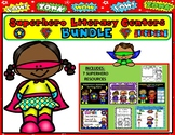SUPERHERO BUNDLE:  LITERACY CENTERS, AWARDS,  Journals, watches, crowns