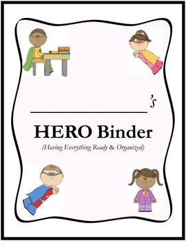 SUPERHERO Binder Cover