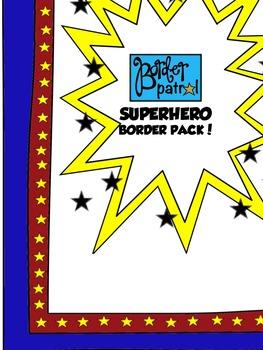 SUPERHERO Border Pack!