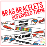 BRAG BRACLETS // SUPERHERO THEME // KINDNESS AND DOJO INCLUDED