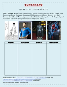 SUPERHERO: Bullying & Belonging - Lessons & Common Core Questions + FREE e-book
