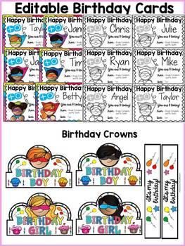 SUPERHERO CLASS DECOR: BIRTHDAY PACK