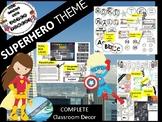 SUPER HERO / Confetti Theme decor for classroom - BACK TO SCHOOL