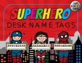 SUPERHERO DESK NAME TAGS-EDITABLE