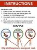 SUPERHERO Classroom Job Assignments