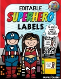 SUPERHERO LABELS-EDITABLE