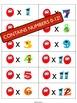 SUPERHERO Multiplication Flash Cards