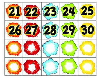 square of numbers from 1 to 30 pdf