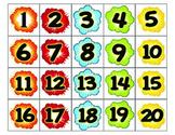 SUPERHERO Numbers 1-30 Student Numbers, Calendar, Birthday