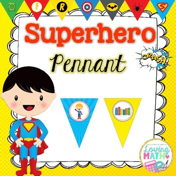 FREEBIE SUPERHERO Pennant