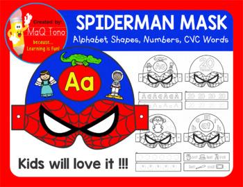 SUPERHERO SPIDERMAN MASK