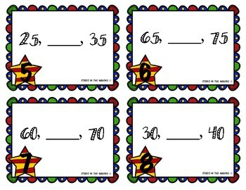 SUPERHERO Skip Counting by 5s Packet