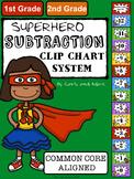 SUPERHERO Subtraction Clip Chart System