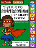 SUPERHERO Subtraction Clip Chart System