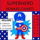 SUPERHERO THEMED REWARD CHARTS - Captain America