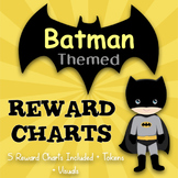 SUPERHERO THEMED REWARD CHARTS - Batman