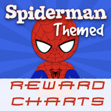 SUPERHERO THEMED REWARD CHARTS - SPIDERMAN