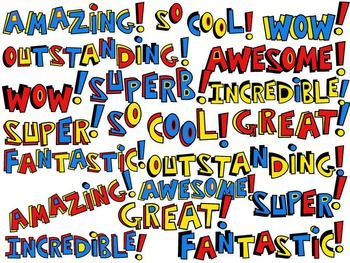 SUPERHERO WORDS